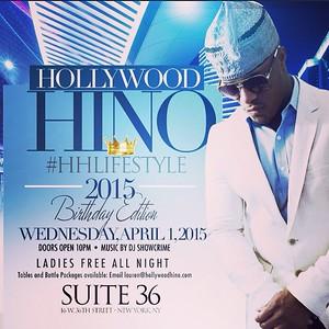 Hollywood Hino HHLIFESTYLE 2015 Birthday Edition (4.1.15)
