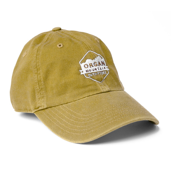 Outdoor Apparel - Organ Mountain Outfitters - Hat - Dad Cap Classic Logo - Mustard.jpg