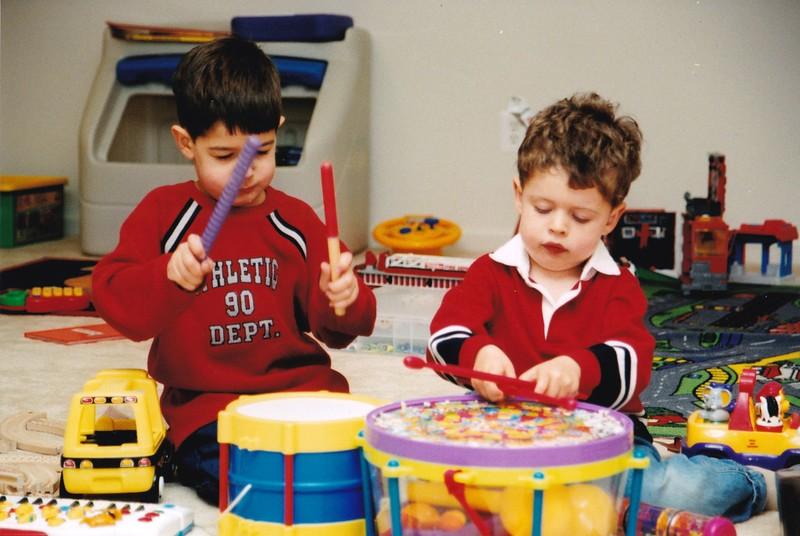 2001-10 Josh, Noah, and drums.jpg