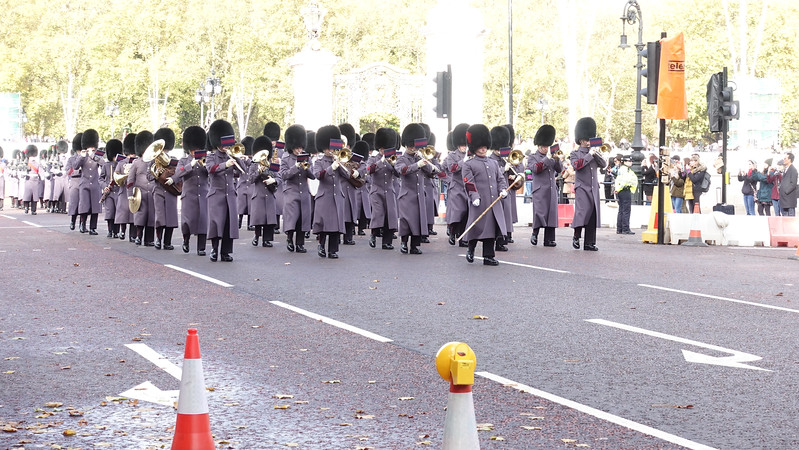 Changing of the Guard, The Scotish Guard Passing Review