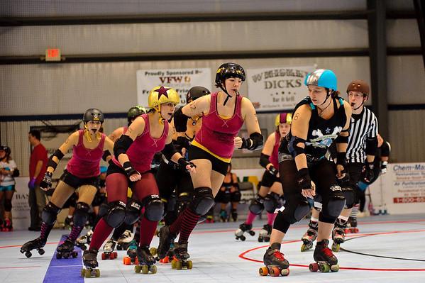 Roller Derby Eau Claire 10/23/10