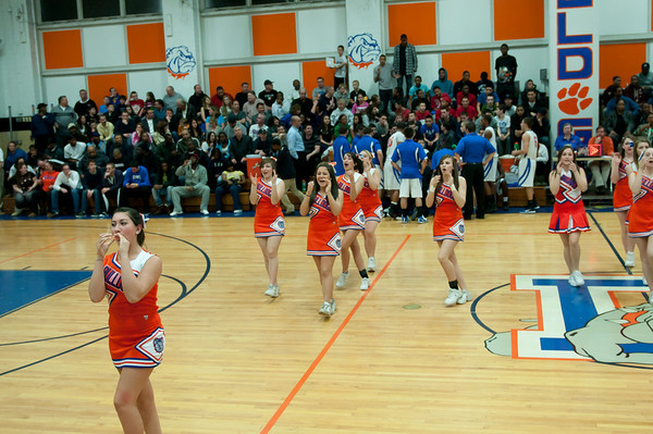 2011-03-08 Cheerleaders - Dayton vs University High