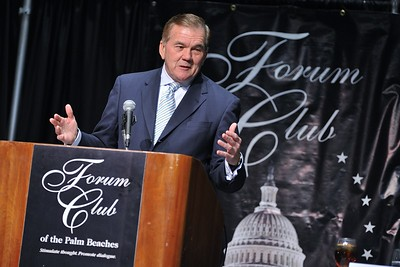 Tom Ridge Forum Luncheon at the Palm Beach County Convention Center 12.16.14