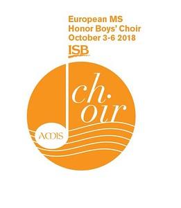 AMIS European Middle School Honor Boys' Choir
