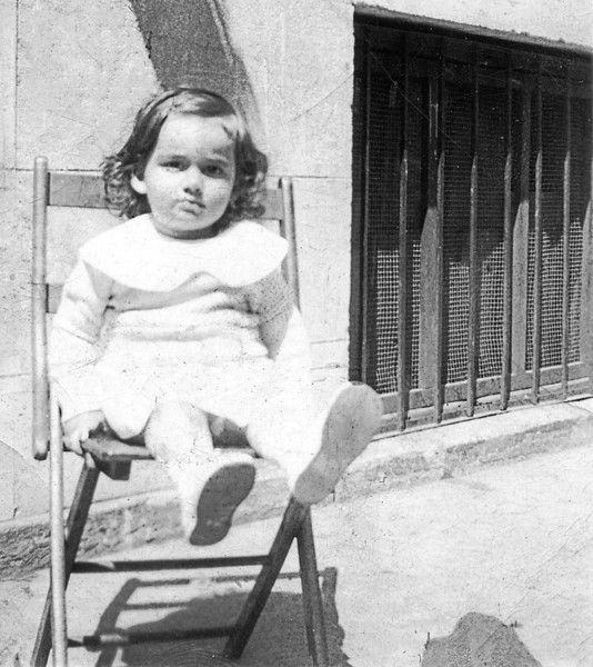 Marian Drucker at 17 months - May 1935