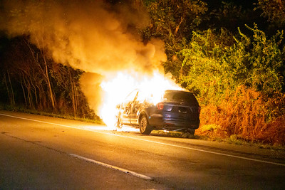269.5 Route 30 Bypass WB - Car Fire