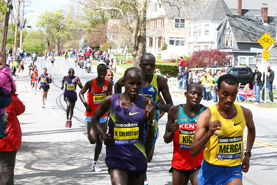 Boston Marathon, April 19, 2010