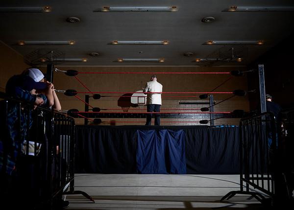 Barrie Wrestling January 2016