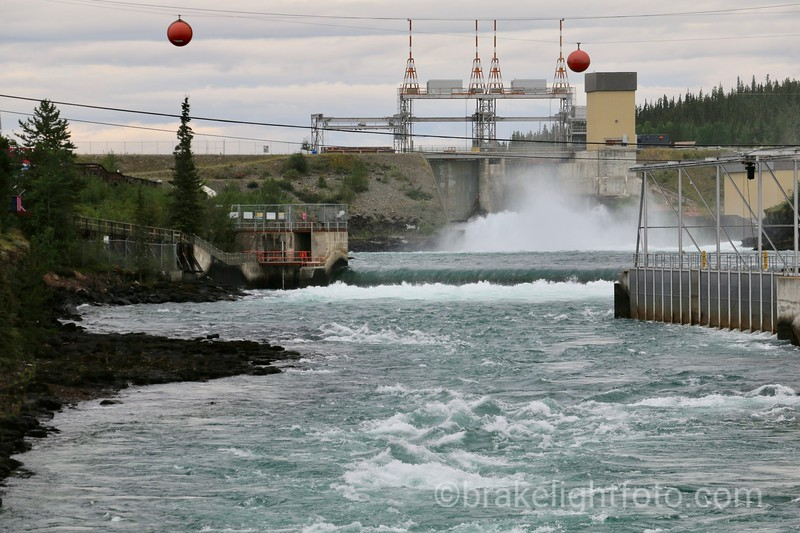 Whitehorse Hydro Dam
