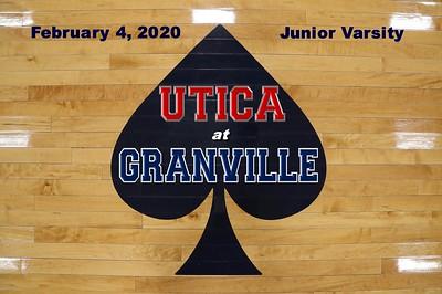 2020 JUNIOR VARSITY - Utica at Granville (02-04-20)