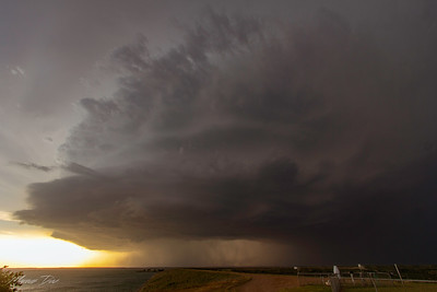 """May 7 NW Texas """"Earth Eater"""" Supercell"""