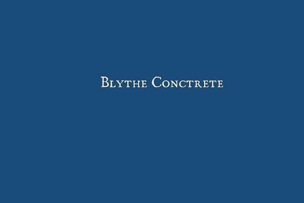 BLYTHE CONCRETE