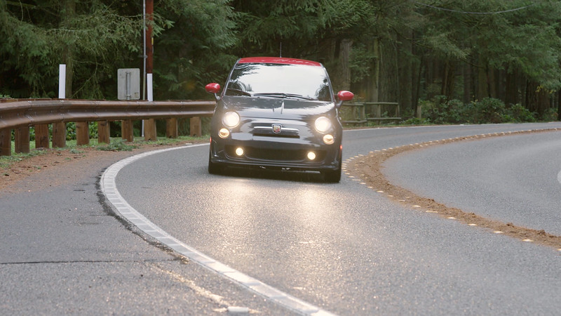 2017 FIAT 500 Abarth Driving Reel