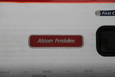 Virgin Trains West Coast Pendolino Nameplates