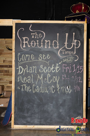 The Round Up Dylan Scott Concert