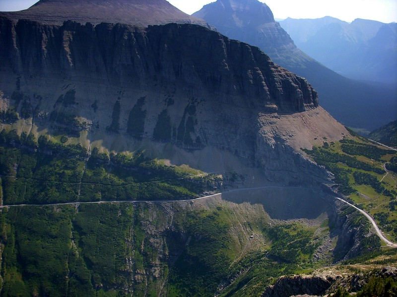 Mount Oberlin Glacier National Park Montana