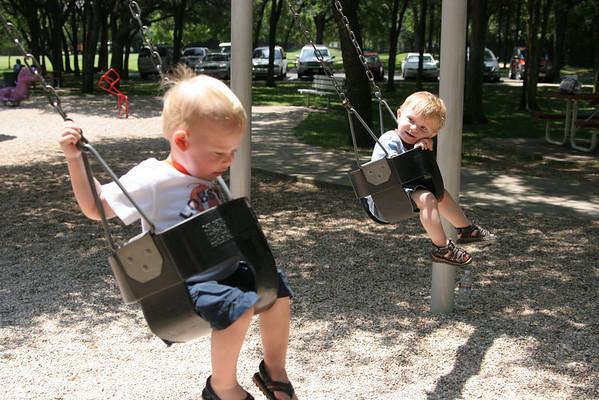 Gateway Moms Group at Springwoods Park - May 21, 2008