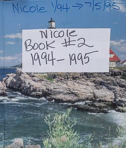 Nicole book #2        1994 - 1995