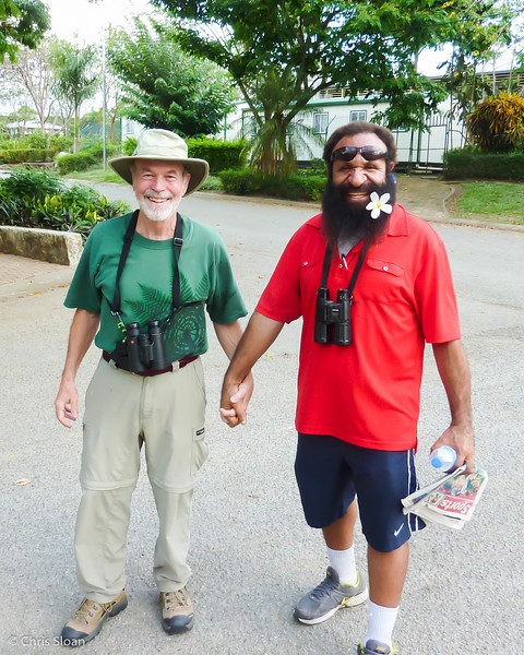 John Noel with Daniel Wakra at Pacific Adventist University, Papua New Guinea (09-27-2013)-2.jpg