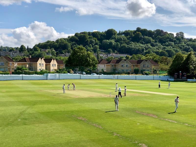 Cricket watching in Bath