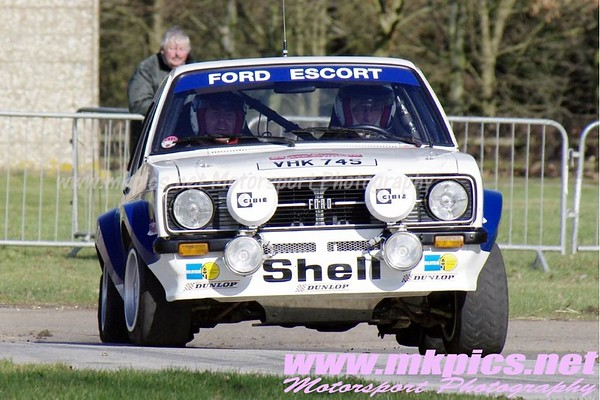 Race Retro Rally Stage, 25 February 2012
