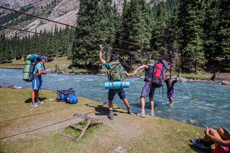 Hiking in Kyrgyzstan - Chon' Kyzyl Suu