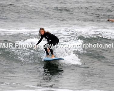 Surfing, Gilgo Beach, NY, (8-30-06)