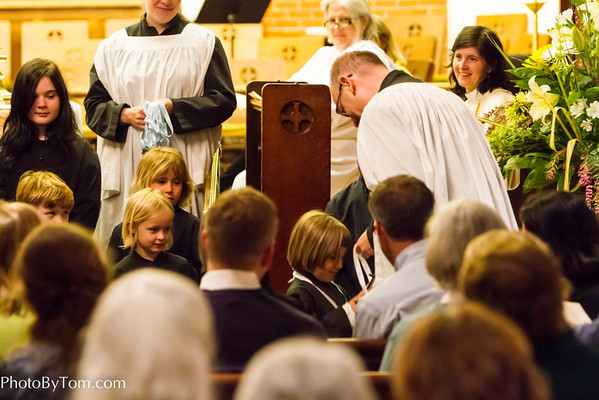 Childrens Choir Awards 2013 and Eucharist