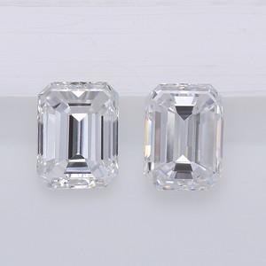 0.79 Emerald Cut Pair EF-VS (Sr1002d)
