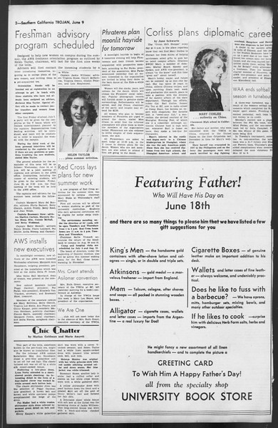 The Trojan, Vol. 35, No. 129, June 09, 1944