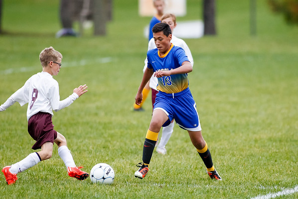 AMS Soccer at Central Noble 2015-10-13