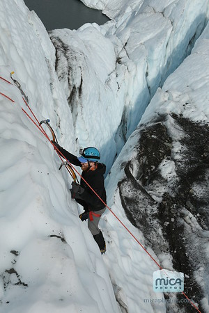 Ice Climbing with Brett