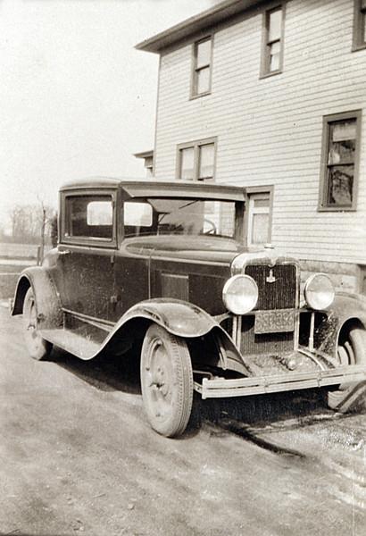 Grandpa Rutkowske new Car.JPG