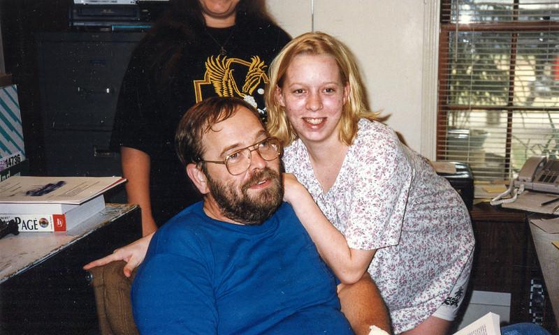 Jessica and Jim Hempstead 1997