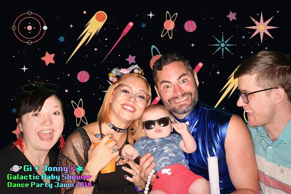 Jonny & Giovanna's Intergalactic Baby Shower