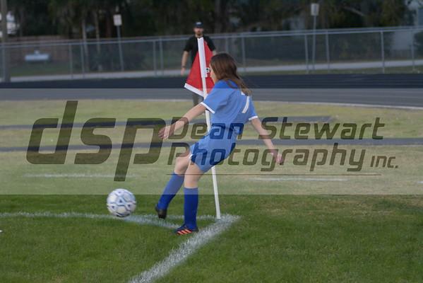 Girls JV Soccer 12-17-18