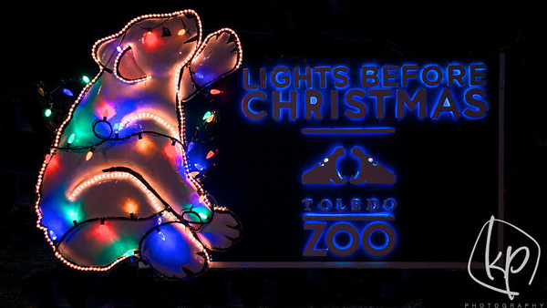 Toledo Zoo Lights Before Christmas 2012