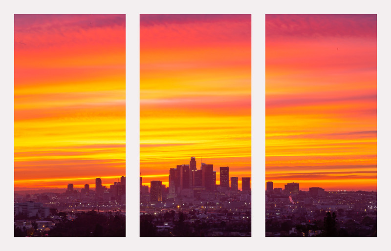 triptych la fire sky sunset.jpg