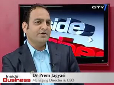 Dr Prem Jagyasi On International News Channel