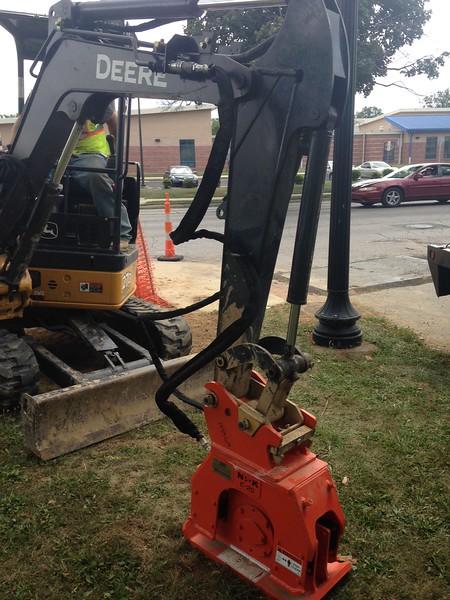 NPK C2D compactor on Deere mini excavator (1).JPG