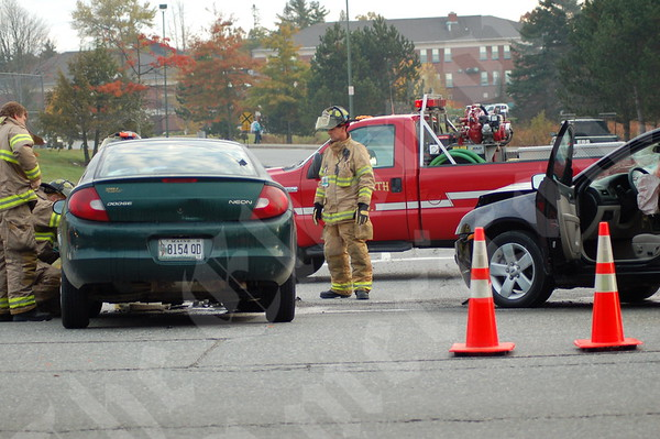 Two-car Collision Snarls Early Morning Traffic