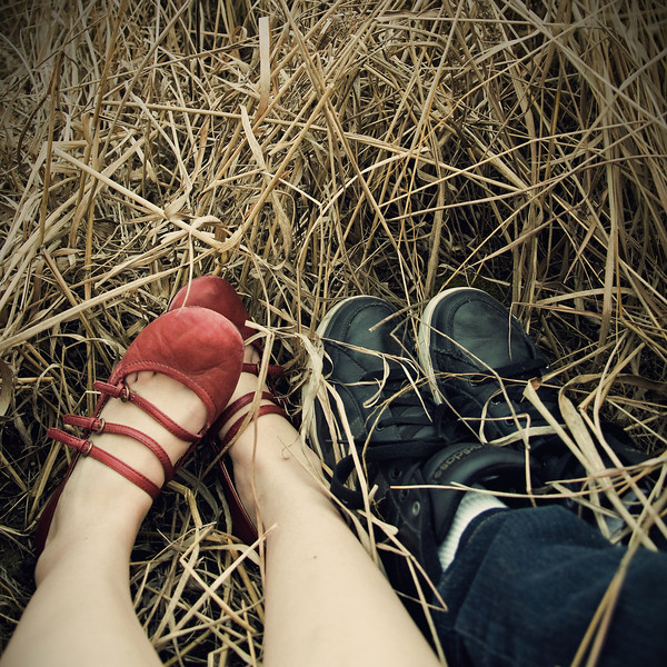 Couple portrait - Spring 2010 (self portrait)
