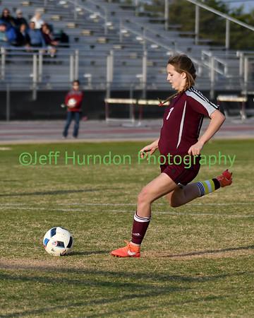 UGHS JV Soccer vs ELCA 3-23-2017