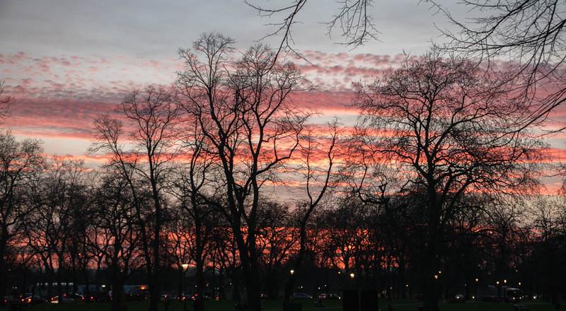 Clapham Sunset