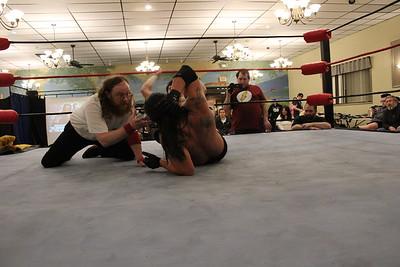 NCW Heavyweight Championship Vern Vicallo vs. Channing Thomas