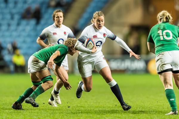 England Women vs Ireland Women - 6 Nations 16 March 2018