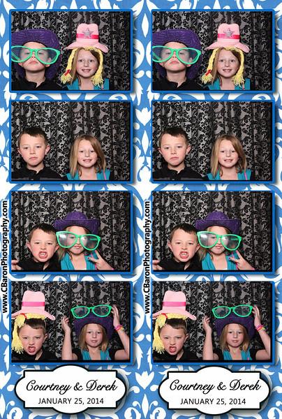 Courtney + Derek Swanky Photobooth