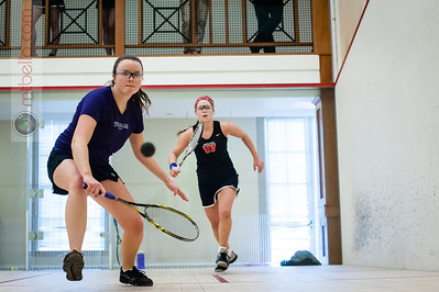 2014-01-26 Claire Miller (Wesleyan) and Lily Grant (Williams)
