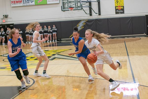 GHS Girls vs Qunicy Jan. 3, 2019