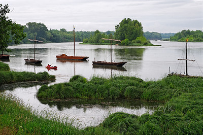 France: River Loire by kayak